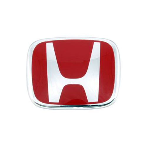 Honda Genuine Rear Red H Badge - DC5