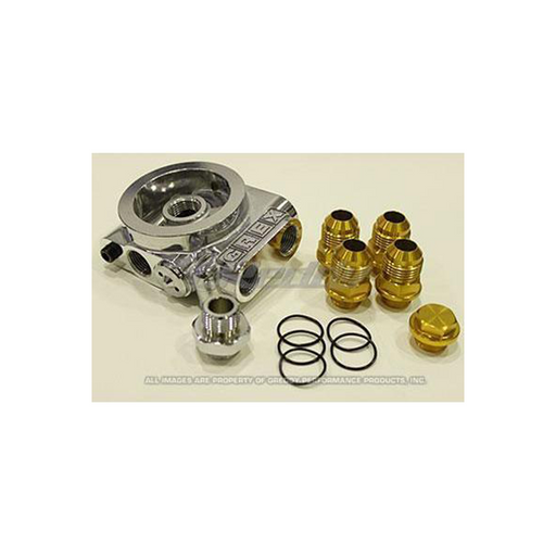Greddy Universal Thermostatic Remote Oil Filter/Cooler Plate