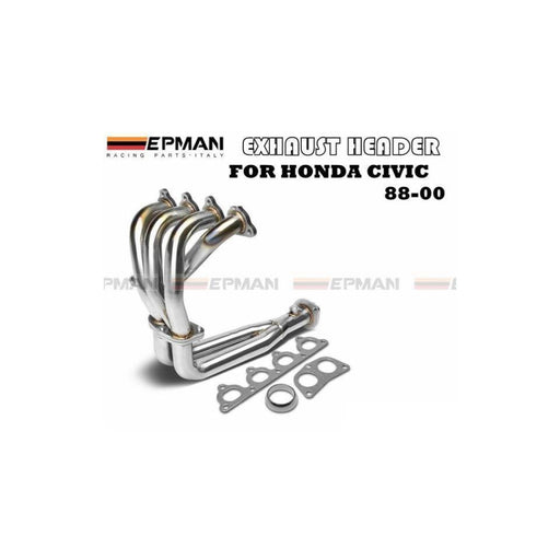 EPMAN Stainless Racing Header - D Series-Exhaust Manifolds-Speed Science
