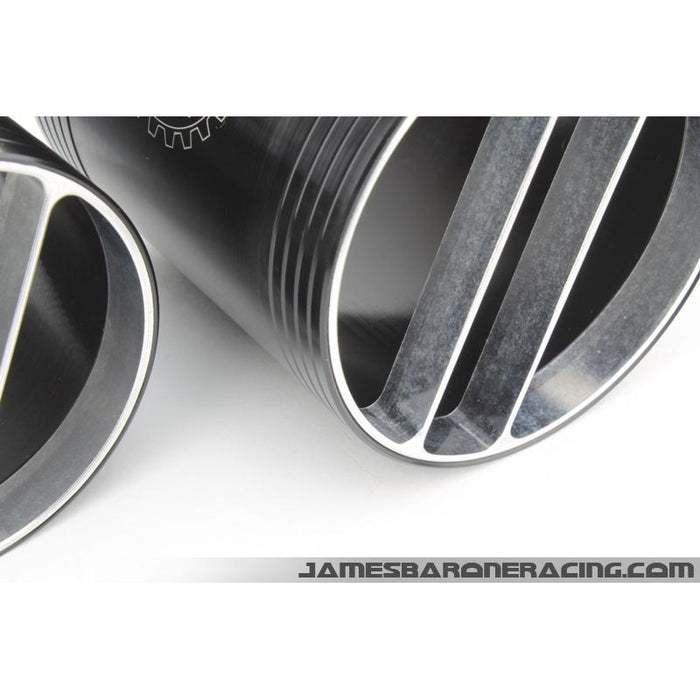 "JBR 3.5"" Wide Path Full Silicone Intake System - MS3/6-Intake Systems-Speed Science"
