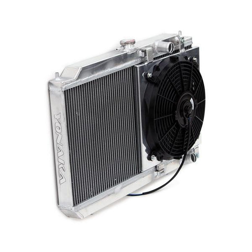 Yonaka Race Radiator w' Fan & Shroud Kit - DA B Series-Radiators-Speed Science