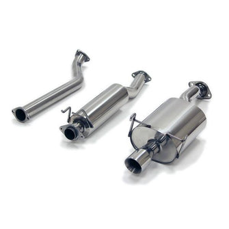 "Yonaka 2.5"" Stainless Catback Exhaust System - DC5 Type R"