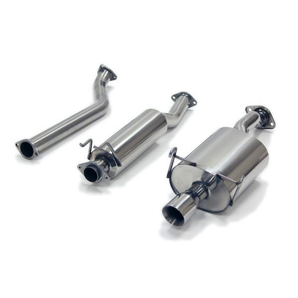 "Yonaka 2.5"" Stainless Catback Exhaust System - DC5 Type R-Exhaust Systems-Speed Science"