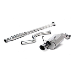 "Yonaka 2.5"" Stainless CatBack Exhaust System - EK 3dr"