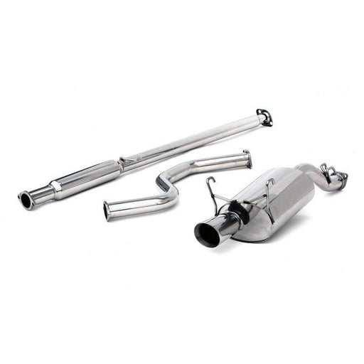 "Yonaka 2.5"" Stainless CatBack Exhaust System - EK 3dr-Exhaust Manifolds-Speed Science"
