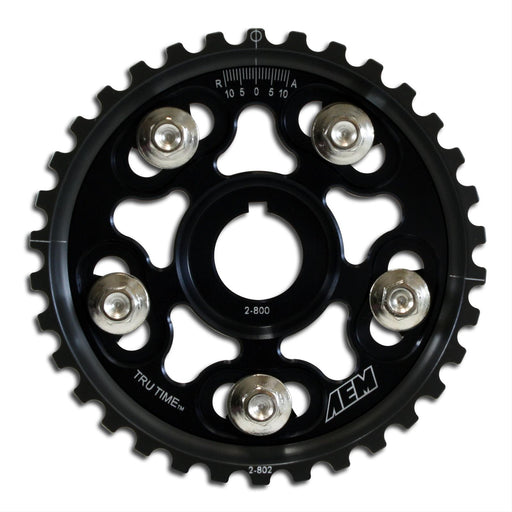 AEM Tru Time Adjustable Cam Gears - H/F Series (pair)-Cam Gears-Speed Science