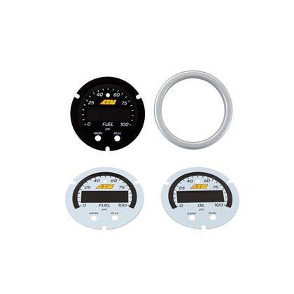 AEM X-Series Pressure Gauge Accessory Kit
