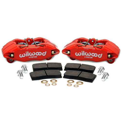 Wilwood DPHA Front Caliper & Pad Bolt On Upgrade Kit - EF/EG/EK/DA/DC (262mm equipped)-Brake Calipers-Speed Science