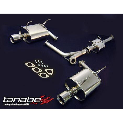 Tanabe Medallion Touring Dual Muffler Catback Exhaust System - S2000