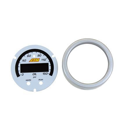 AEM X-Series Oil Pressure Gauge 0~150psi / 0~10bar Accessory Kit