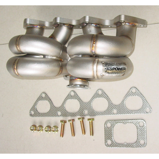 XS Power Thick Wall Stainless T3 Turbo Manifold - B Series-Turbo Manifolds-Speed Science