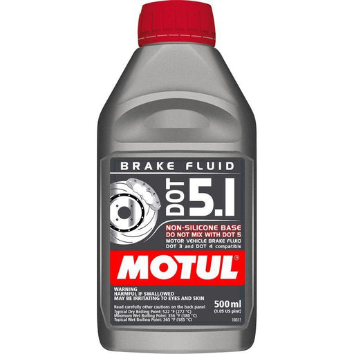 Motul Brake Fluid - DOT 5.1 500ml-Brake Fluid-Speed Science