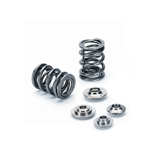 Supertech Dual Valve Spring & Retainer Kit - B Series-Valve Springs-Speed Science