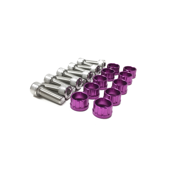 MPC Motorsport Intake Manifold Hardware Kit - D/B/H/F/K Series-Dress Up Bolts & Washer Kits-Speed Science