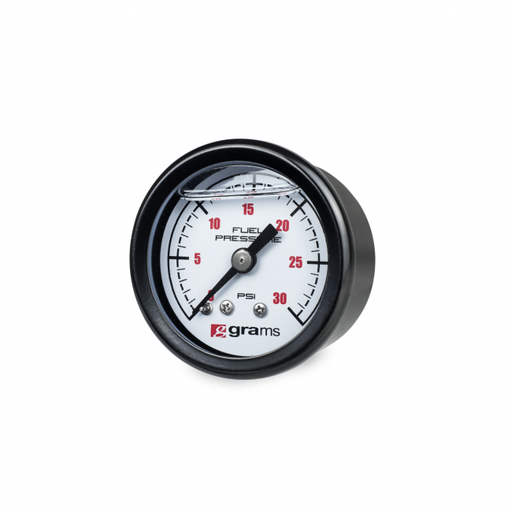 Grams Performance Fuel Pressure Gauge - 0-30psi-Fuel Pressure Gauges-Speed Science