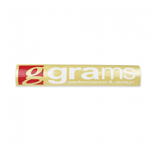 Grams Performance Logo 87.5cm Windshield Decal