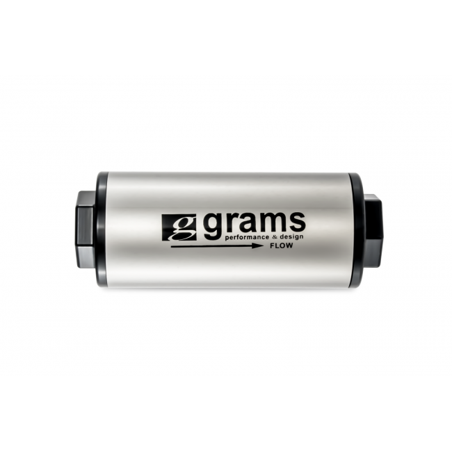Grams Performance Fuel Filter - 100 Micron w/ -10 AN-Fuel Filters-Speed Science