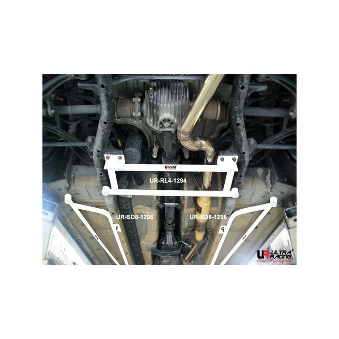 Ultra Racing 4pt Rear Lower Brace - S2000-Chassis Braces-Speed Science
