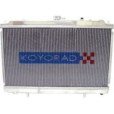 Performance Koyo Radiator, Nissan Silvia, S14, S15, 93-02, Dual Pass, 48mm, (KH020369NU06)
