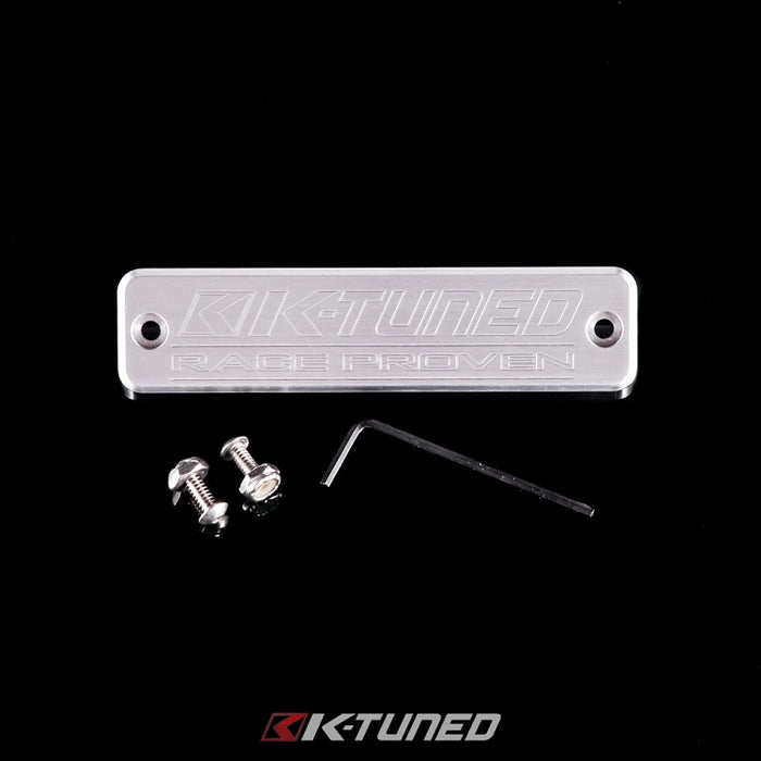 K-Tuned Logo Plate (for Coil Cover)-Coil/Wire Covers-Speed Science