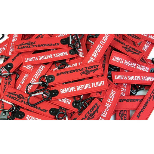 "SpeedFactory ""Flight"" Keychains (Red)"