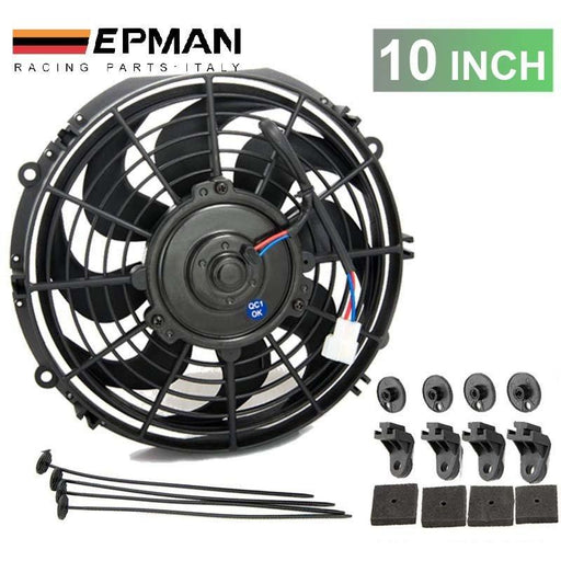 "EPMAN Slim Electric Radiator Fan - 10""-Radiator Fans-Speed Science"