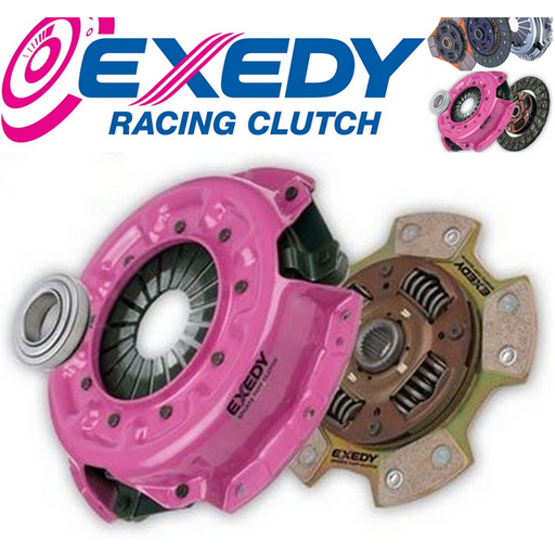 Exedy 5 PuK Heavy Duty Button Clutch Kit - H Series + F20B-Clutch Kits-Speed Science