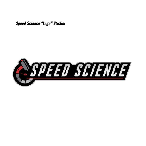 "Speed Science ""Logo"" Sticker-Decals & Badges-Speed Science"