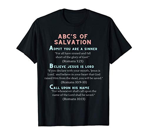 ABC's of Salvation T-Shirt