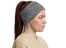 "Load image into Gallery viewer, Neck Gaiter/Face Mask ""Anything But Normal""  Smaller Print - Clove And Lime Design Shoppe"