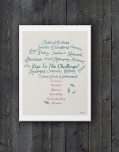 "Classical Education Tree Canvas 12"" x 16"" - Clove And Lime Design Shoppe"