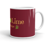 Load image into Gallery viewer, C & L Burgundy Coffee and Tea Mug - Clove And Lime Design Shoppe