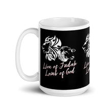 Load image into Gallery viewer, Lion and The Lamb Mug - Clove And Lime Design Shoppe