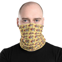 Load image into Gallery viewer, Drum Set Pattern Neck Gaiter and Face Covering - Clove And Lime Design Shoppe