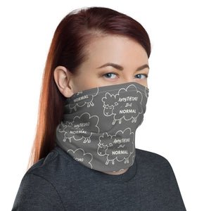 "Neck Gaiter/Face Mask ""Anything But Normal"" - Clove And Lime Design Shoppe"