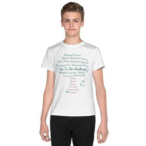 Classical Conversations Youth T-Shirt White (Sizes 8 - 20) Unisex - Clove And Lime Design Shoppe