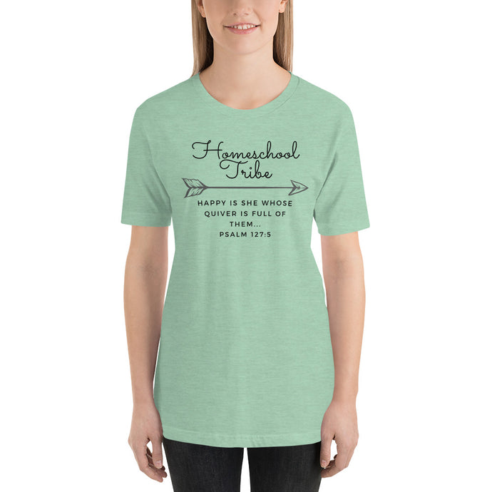 Homeschool Tribe Women's T-Shirt Light Colors - Quiver - Clove And Lime Design Shoppe