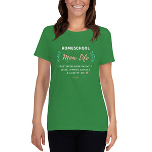 Mom-Life Women's T-Shirt - Clove And Lime Design Shoppe
