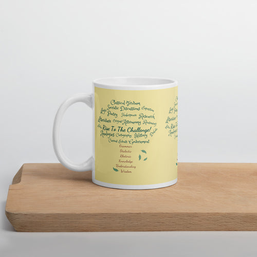 Classical Tree Mug in Color (Yellow)