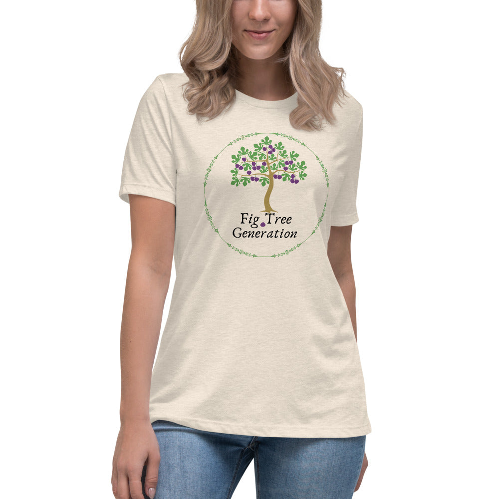 Fig Tree Generation Women's Relaxed Light T-Shirt