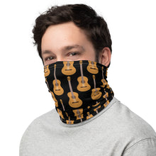 Load image into Gallery viewer, Neck Gaiter / Face Mask Acoustic Guitar - Clove And Lime Design Shoppe