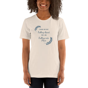 Falling Into Place Short-Sleeve T-Shirt - Clove And Lime Design Shoppe