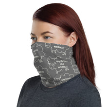 "Load image into Gallery viewer, Neck Gaiter/Face Mask ""Anything But Normal"" - Clove And Lime Design Shoppe"