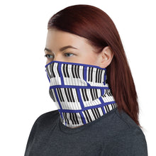 Load image into Gallery viewer, Piano/Keyboard Neck Gaiter Face Covering - Clove And Lime Design Shoppe
