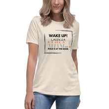 Load image into Gallery viewer, Wake Up Leodicea Women's Relaxed T-Shirt Light Shirt - Clove And Lime Design Shoppe