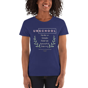 Un-School Women's T-Shirt - Clove And Lime Design Shoppe