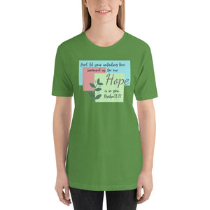 Hope Short-Sleeve Unisex T-Shirt - Clove And Lime Design Shoppe