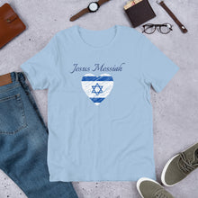 Load image into Gallery viewer, Jesus Messiah Star Of David Short-Sleeve T-Shirt - Clove And Lime Design Shoppe