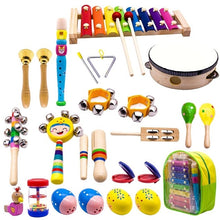 Load image into Gallery viewer, Kid's Musical Instruments: 23 Instruments with Travel Pack - Clove And Lime Design Shoppe