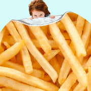 French Fries Blanket
